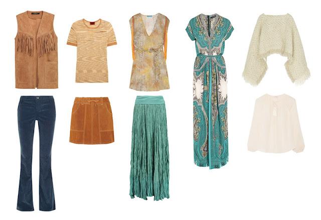 Акцентные вещи гардероба Boho Project 333