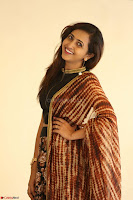 Lasya looks super cute in black choli Saree at Raja Meru Keka Press Meet ~  Exclusive 094.JPG