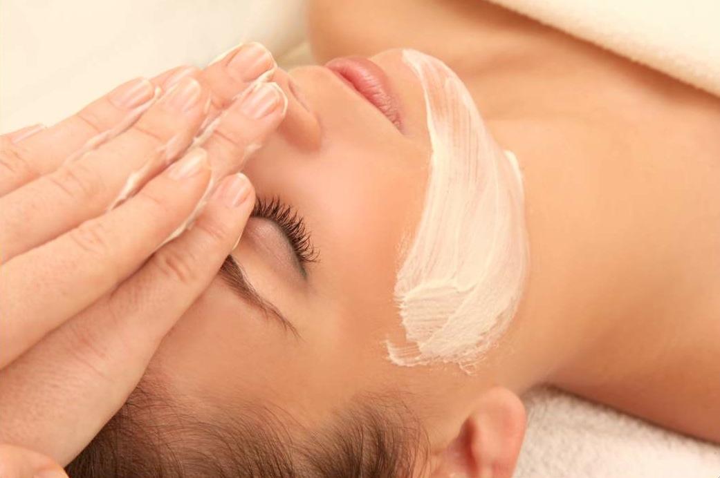 masaje facial en twentynails