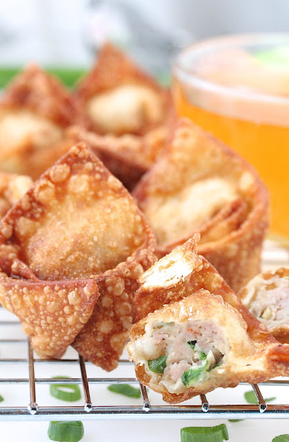 Pork and Shrimp Fried Wontons