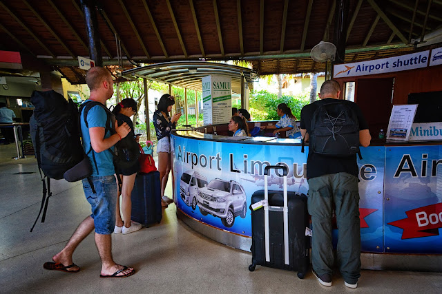 How to get there From Samui Airport to Chaweng, Lamai,Maenam or Bophut.