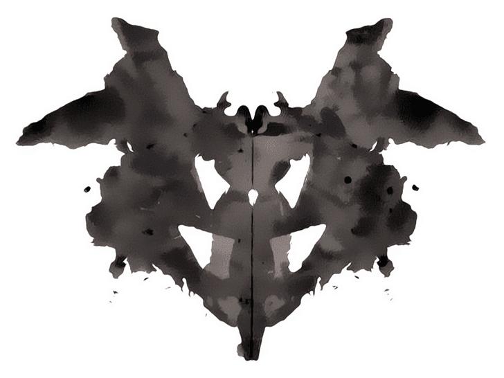 Lámina de Rorschach 1