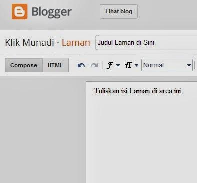Laman Blogger