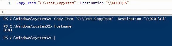 IT Professional: PowerShell : Copy File(s) TO / FROM remote
