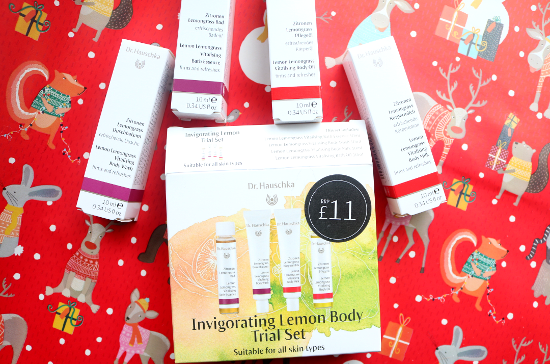 Dr. Hauschka Invigorating Lemon Body Trial Set