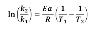 Ecuación de Arrhenius  efecto de la temperatura