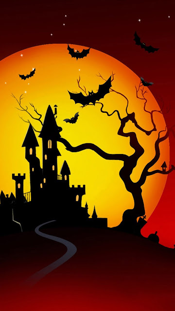 Halloween hd wallpaper for iphone 6 plus/5/5c/ipad 2