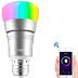 LAMPARA INTELIGENTE WiFi MULTICOLORES (Controlala desde tu telefono)
