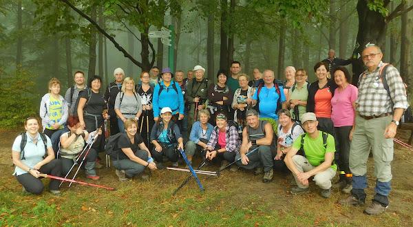 Grupa na przełęczy pod Glorietą.