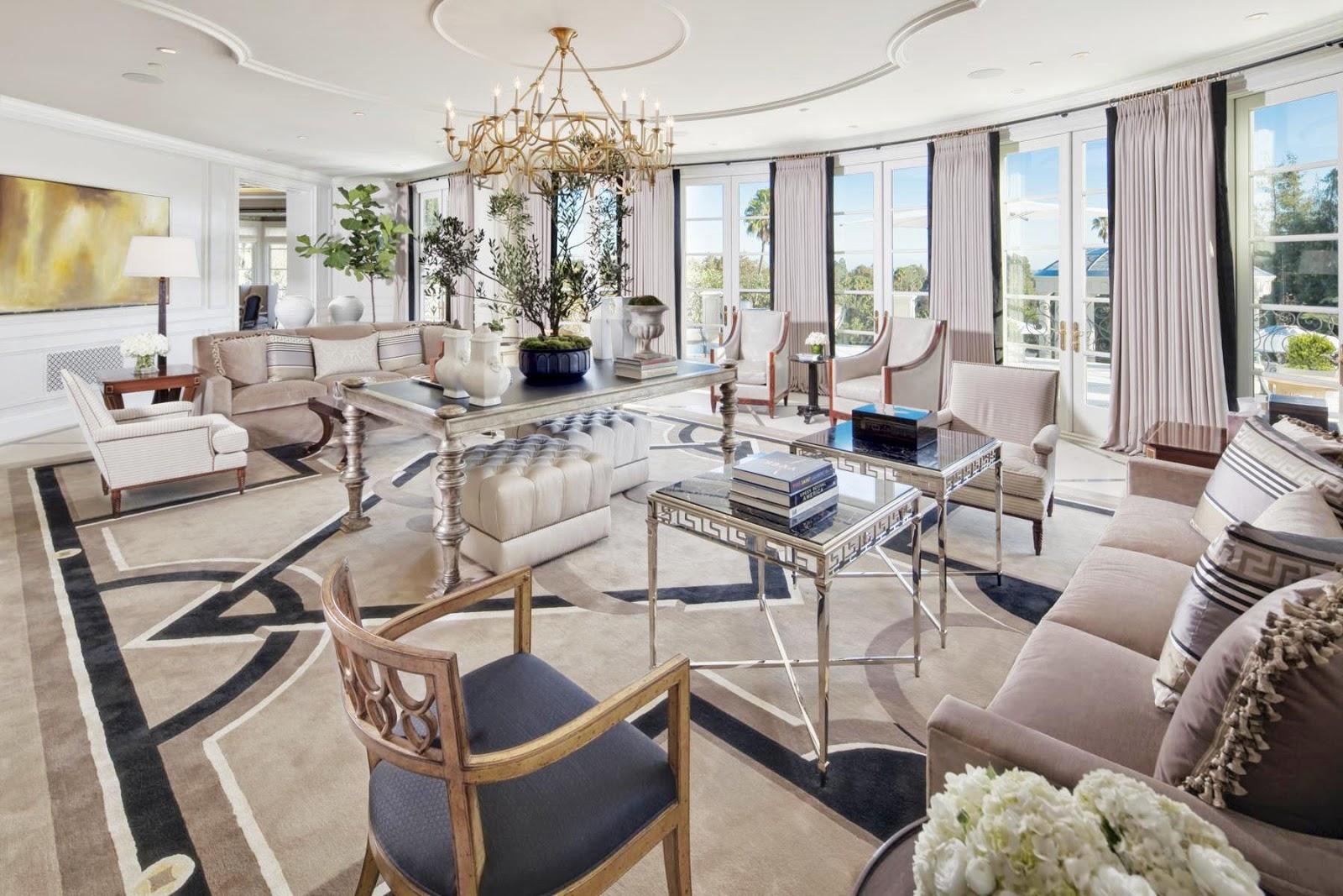 Million Dollar Living Rooms - Bing images