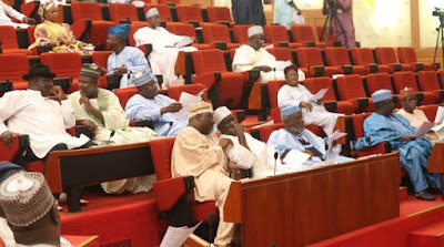 Drama as PDP senators call APC 'All Progressives Crisis'