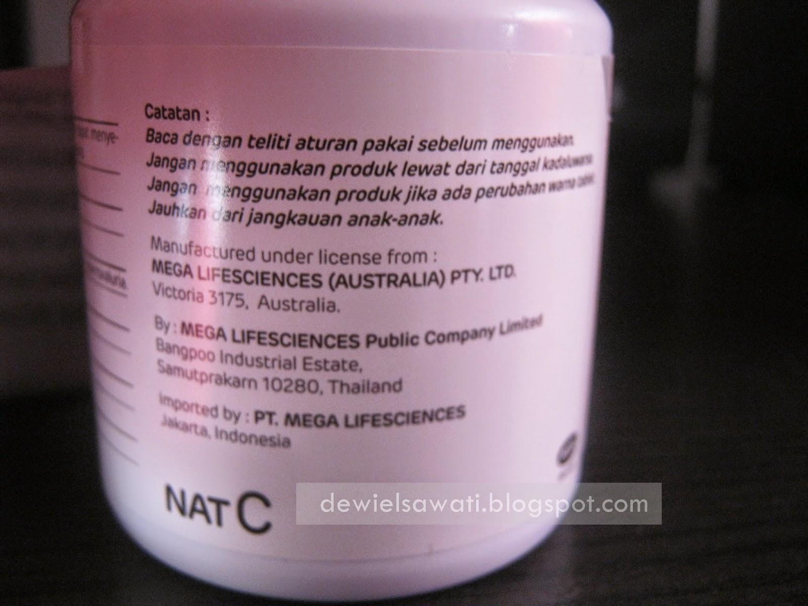 Review Nat C 1000 Suplemen Daya Tahan Tubuh
