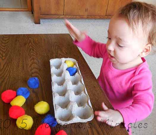 DIY Matching Activities Ages 1-2