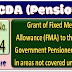 Gant of Fixed Medical Allowance (FMA) to the Pensioners residing in areas not covered under CGHS Area: PCDA Circular No. C-174