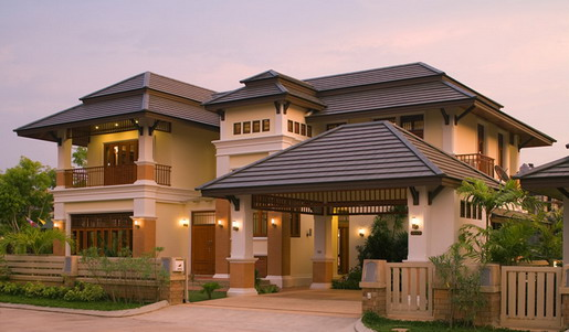 Asian Style Homes Designs