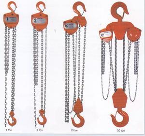 Jual Takel Chain Block Hoist Nitzhi Terlengkap