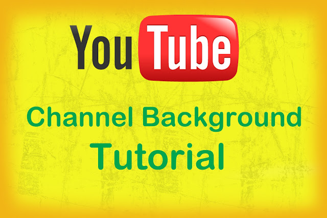 تصميم خلفية لقناة اليوتيوب بكل سهوله | background maker