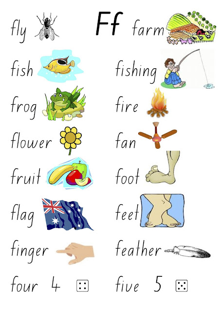 4 letter words starting with f ke kindergarten week 3 the letter quot f quot 20131