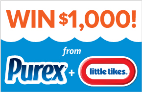 Enter to win a Little Tikes $1,000 Gift Code, ends August 30th.