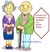 Income Tax Exemption Available for Senior Citizen