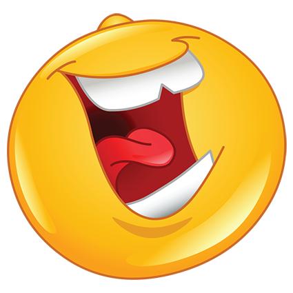 Emoji Laughing Out Loud