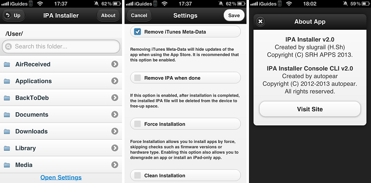 IPA Installer iPhone