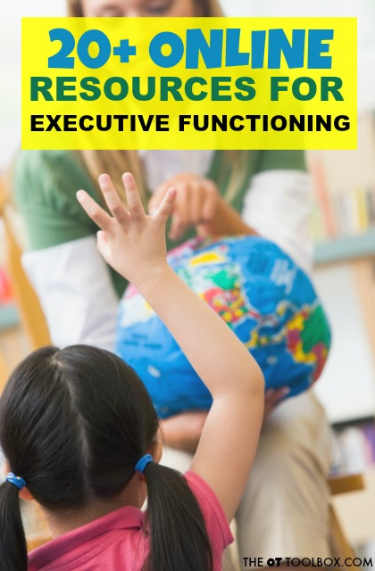 Use these resources to improve executive function in kids and adults.
