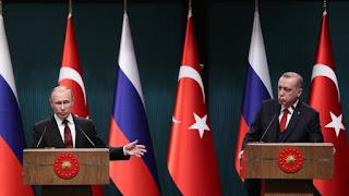"""Ο Πούτιν μέσω της Τουρκίας του Ερντογάν εισέρχεται στα """"ζεστά νερά"""" της Μεσογείου…"""