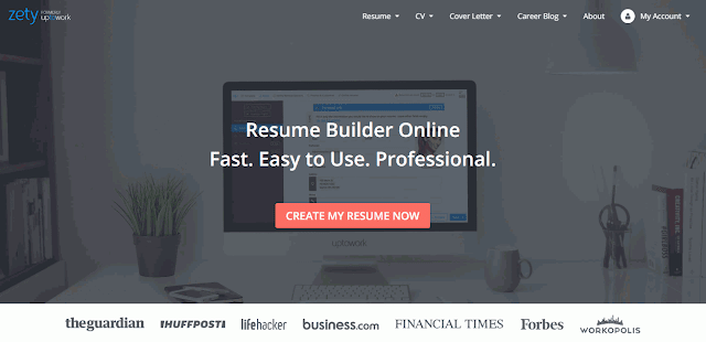 Cara Membuat CV Online dengan ZettyUptowork