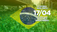 manifestação a favor do impaechment em abril, capa para para divulgar no Google+ Face