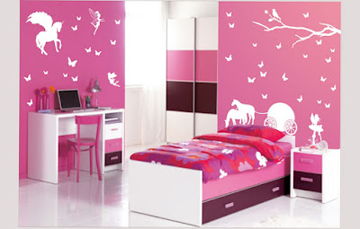 Picture of Bedroom Designs For Teenage Girls Games Pink Elegan For Your Son