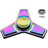 Mermaker Best FIDGET Spinner Toy for relieving ADHD, Anxiety, Boredom EDC Tri-Spinner Fidget Toy Smooth Surface Finish Ultra Durable