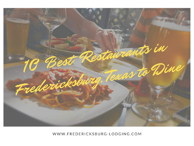 10 best restaurants in Fredericksburg blog cover image