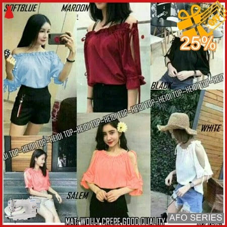 AFO183 Model Fashion Heidi Top Modis Murah BMGShop