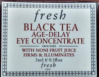 Fresh Black Tea Age Delay Eye Concentrate box