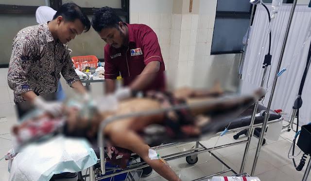 kondisi mayat korban saat di RSUD dr. Haryoto