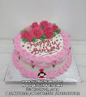 Kue Tart Bunga Bunga Cantik