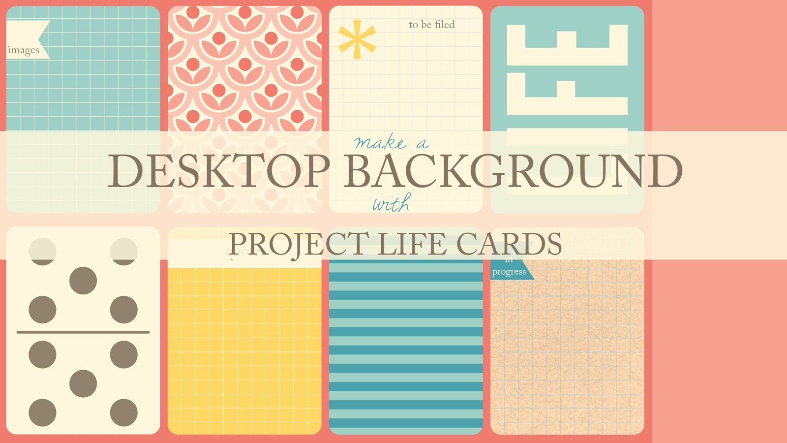 The Ney Life: Project Life Inspiration: Organized Desktop
