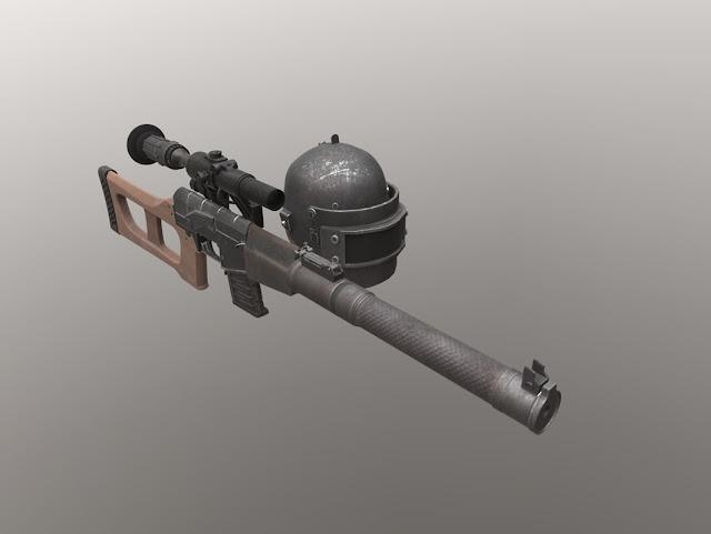 PUBG VSS and Helmet  | خوذة وسلاح vss