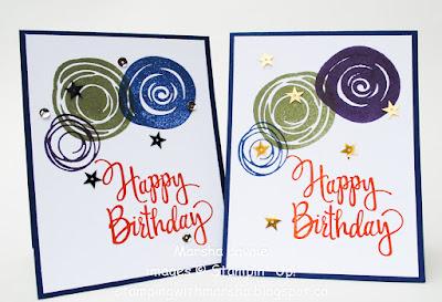 Stylized Birthday, Happy Birthday