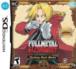 Fullmetal Alchemist: Trading Card Game, NDS, Mega, Mediafire