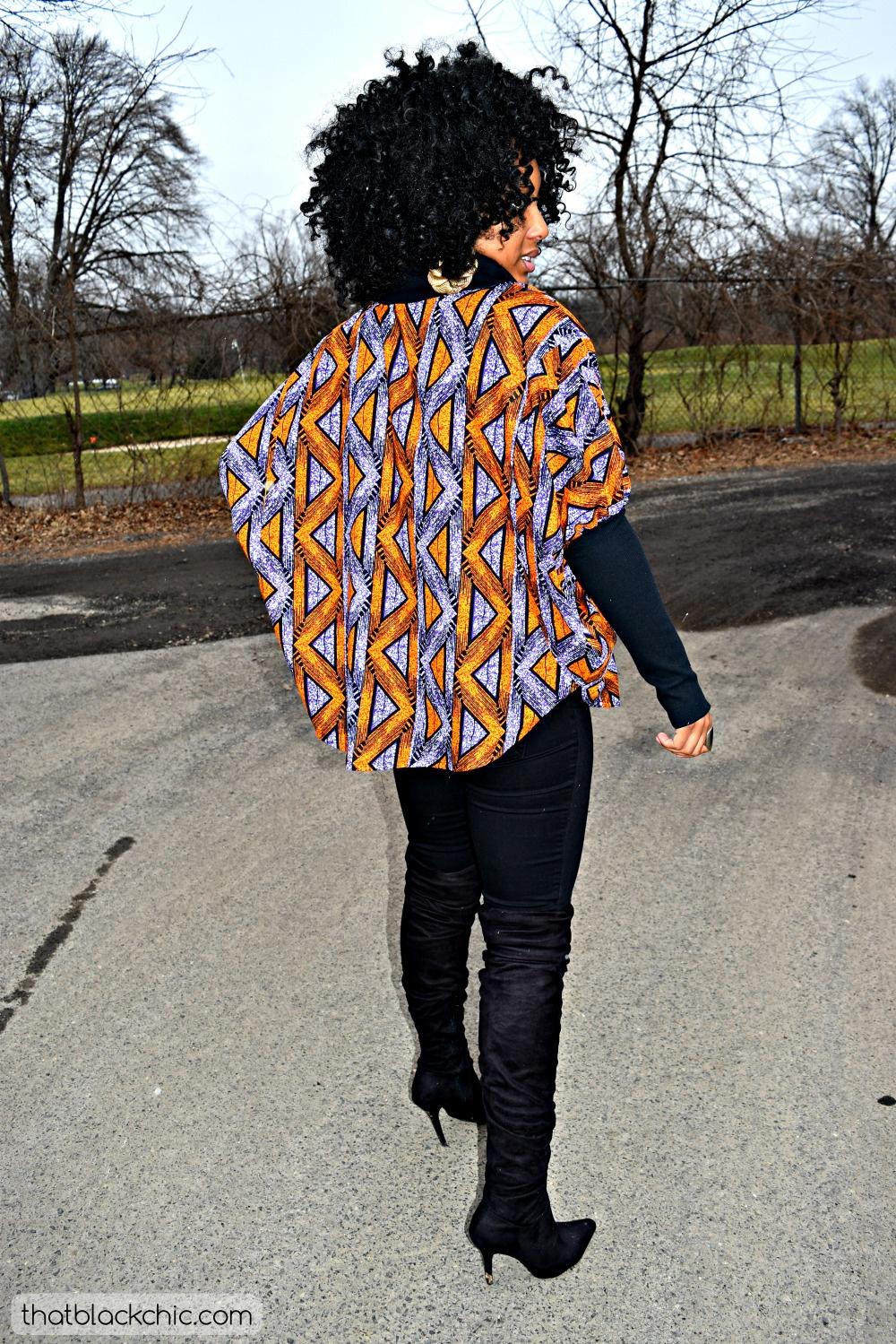 DIY Blouse using Ankara and Lace Fabrics [McCall's 6962 ...
