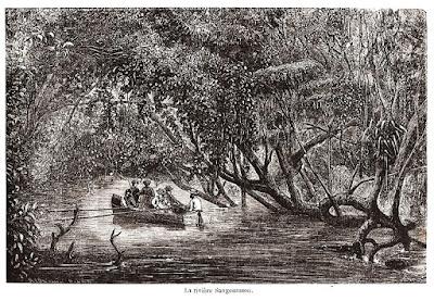 O rio Sanguaçu.