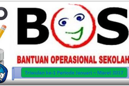 Cut Off BOS Triwulan ke 1 Tahun 2017 Tanggal 15 Desember 2016