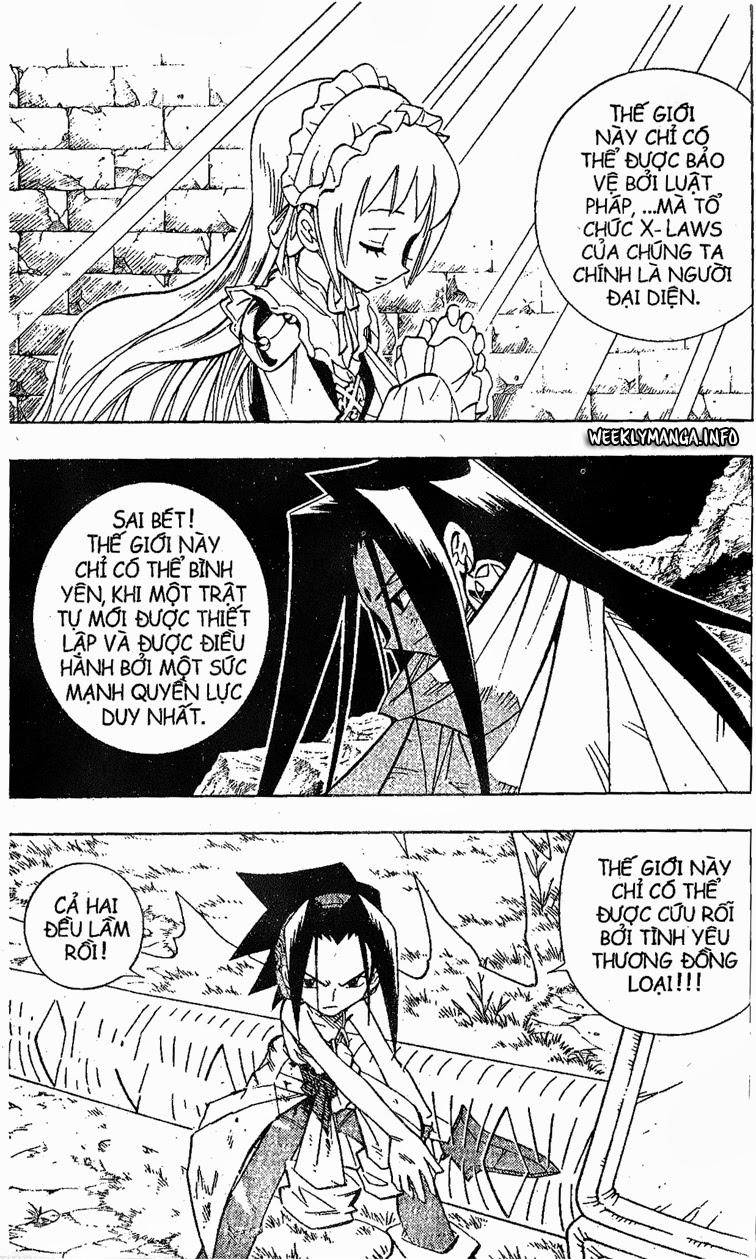 Shaman King [Vua pháp thuật] chap 198 trang 9