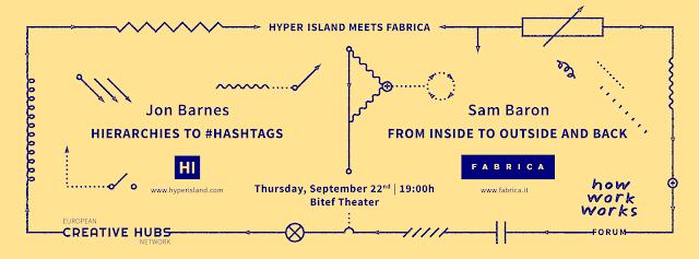Fabrica i Hyper Island u Bitef teatru