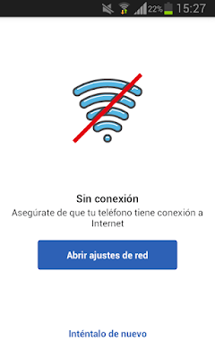 Captura error de conexión