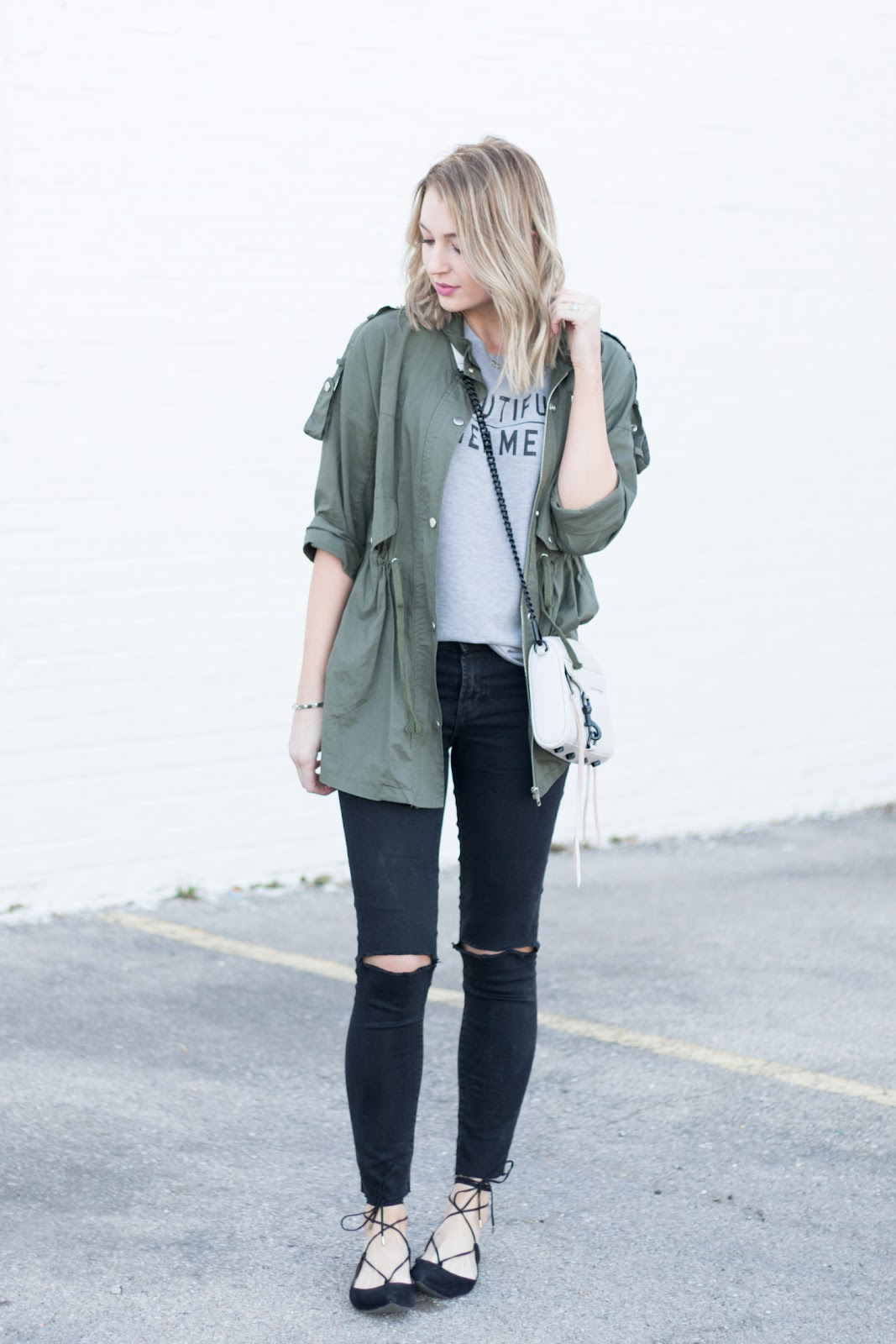 Casual layered outfit