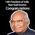 Ram Nath Kovind Elect as India's 14th President | It's an emotional moment for me | Ram Nath Kovind