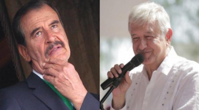 """Son una """"mamada"""" las propuestas de AMLO que lo sepa todo México dice Fox"""